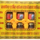 Hộp 6 hũ nước yến sào Khánh Hòa 70ml